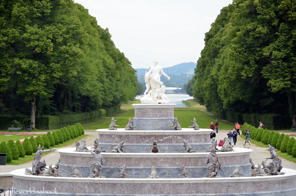 Herrenchiemsee Latona fountain