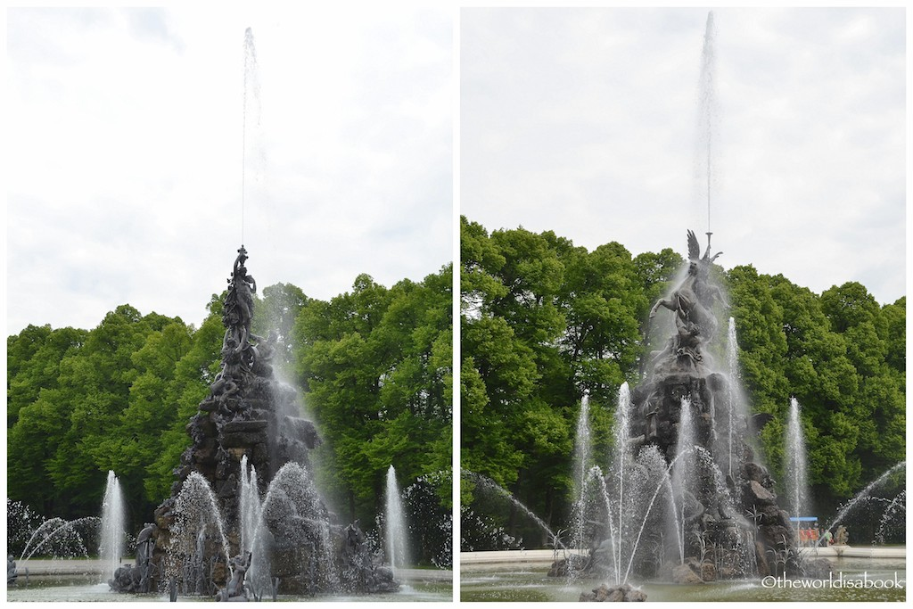Herrenchiemsee fountains