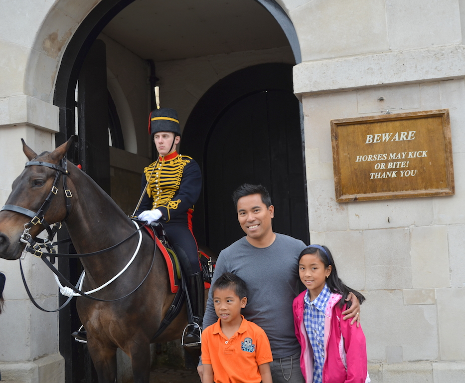 Household Cavalry Horse Guard London