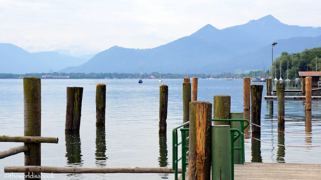 Lake Chiemsee Prien dock