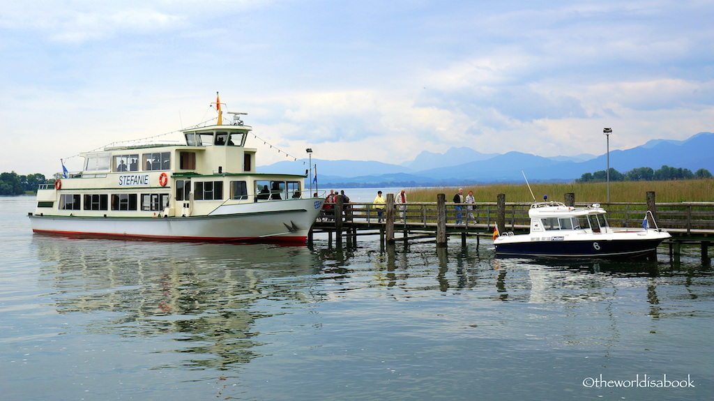 Lake Chiemsee boats