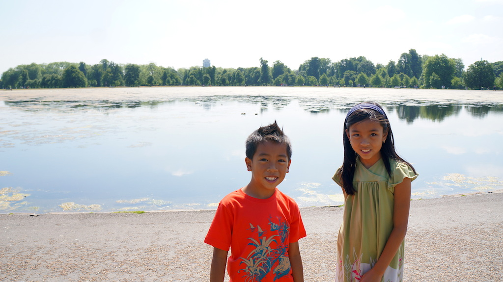 London Parks with kids