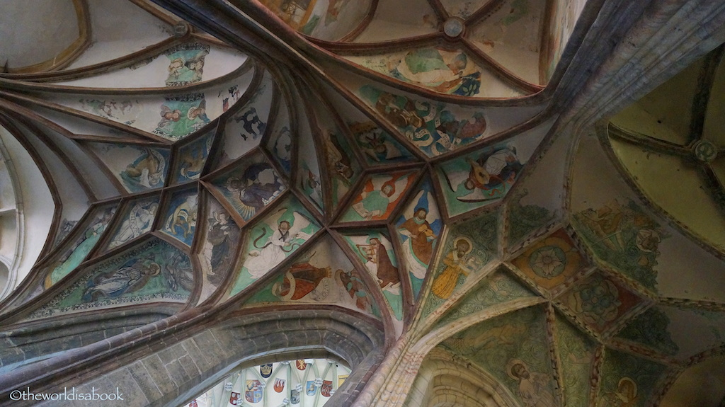 ST Barbara Cathedral Kutna Hora ceiling