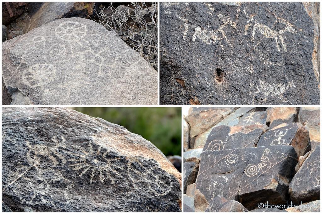 Saguaro National Park petroglyphs