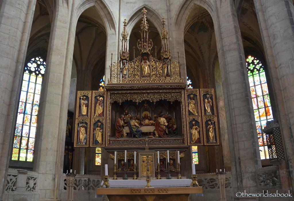 St Barbara Cathedral Kutna Hora altar