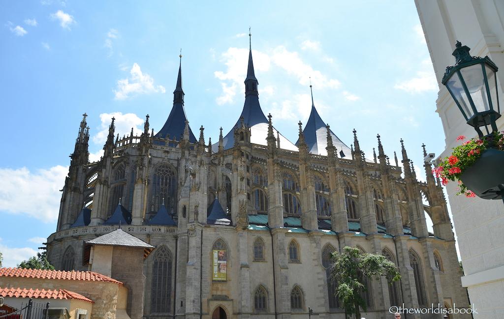 St Barbara Cathedral Kutna Hora exterior