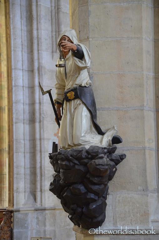 St Barbara Cathedral miner kutna hora
