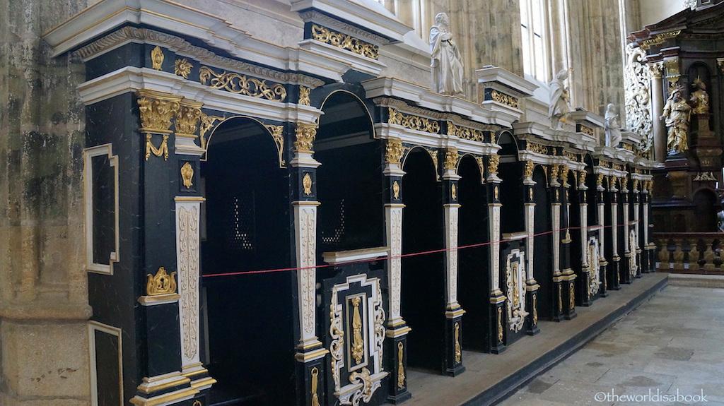 St Barbara confessional Kutna Hora