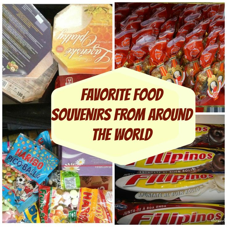 Favorite food souvenirs