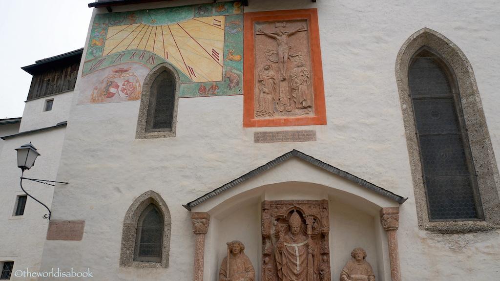 Hohensalzburg Fortress frescoe