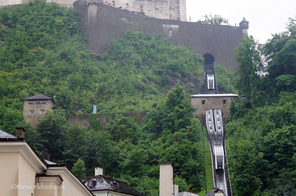 Hohensalzburg Fortress funicular