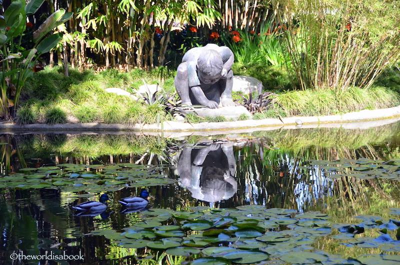 Huntington garden statue