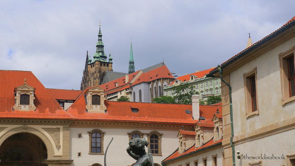 Prague Castle from below
