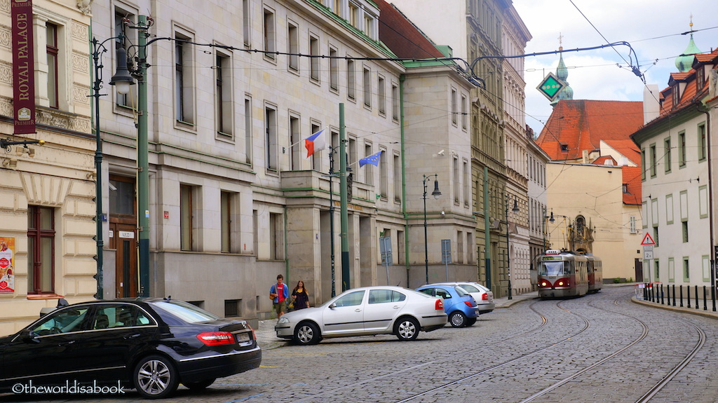 Prague Mala Strana Letenska street