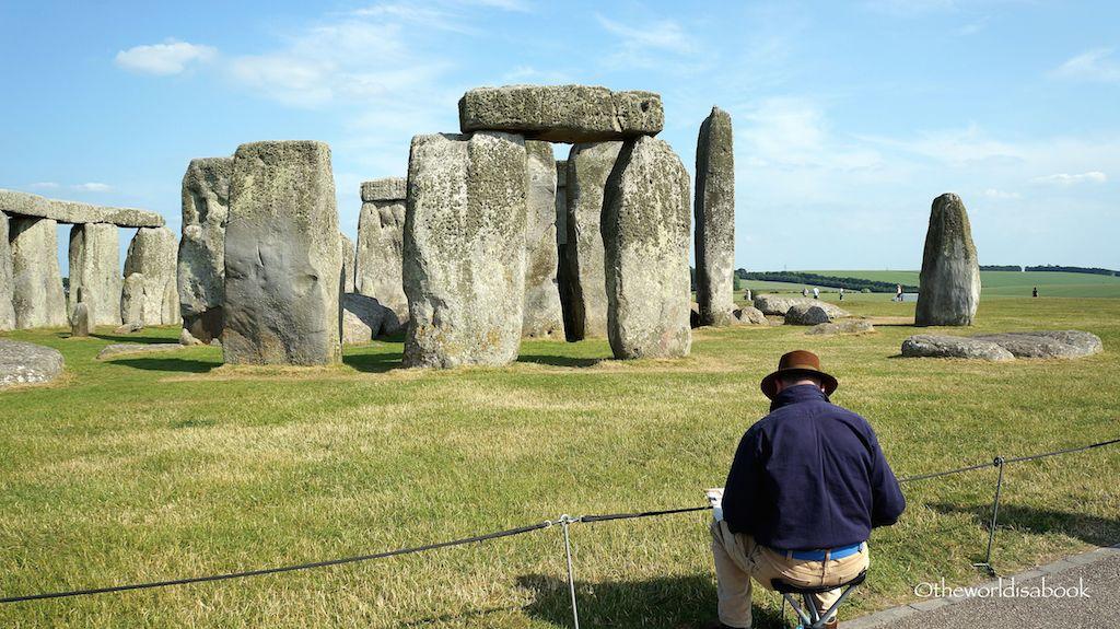 Stonehenge artist