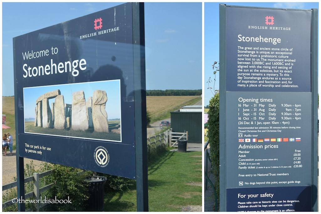 Stonehenge sign