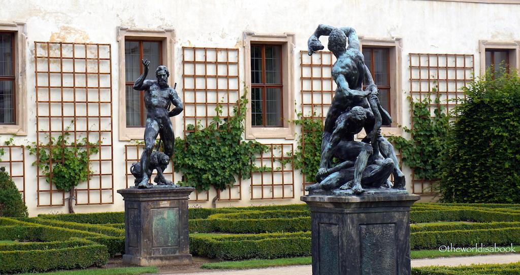 Wallenstein Palace Garden Statues