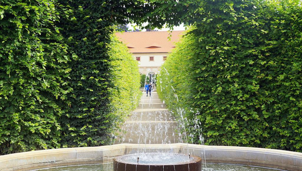 Wallenstein Palace Garden fountain