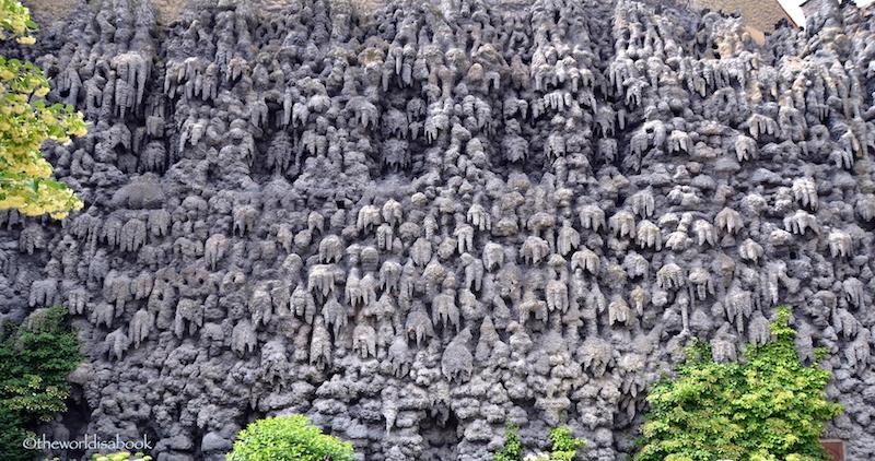 Wallenstein dripstone wall