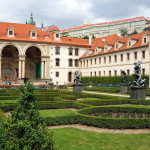 Wandering through Wallenstein Palace Garden Prague