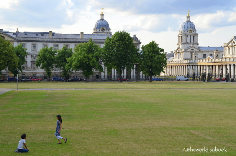 Greenwich with kids