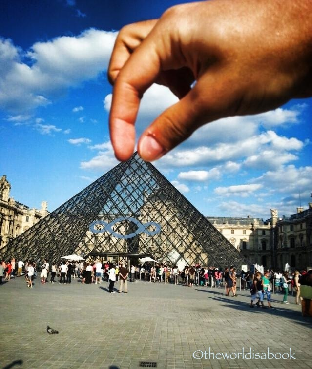 Louvre trick