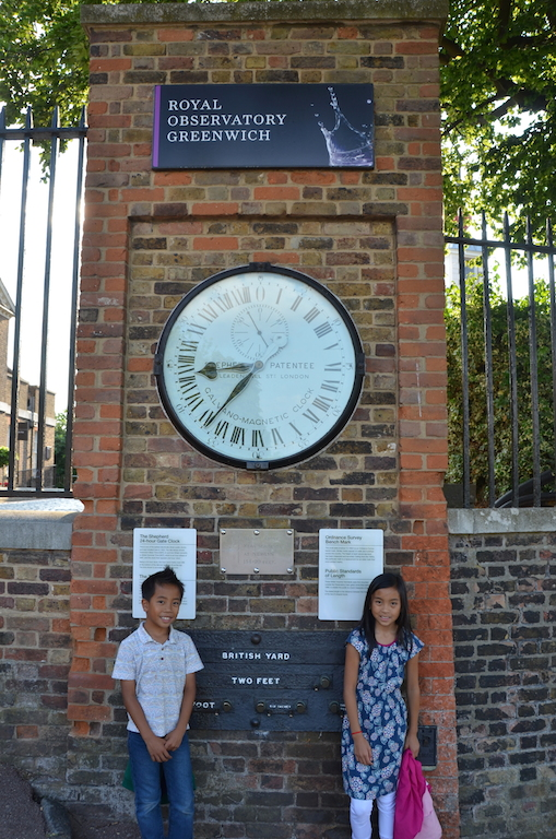 Prime Meridian with kids