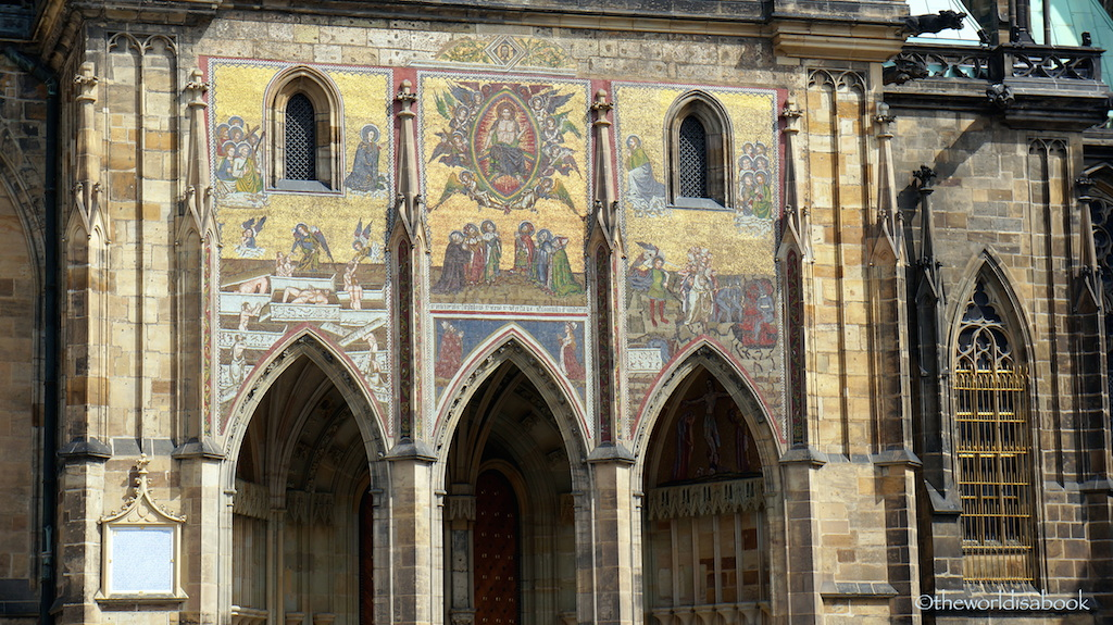 St Vitus Cathedral Golden Portal