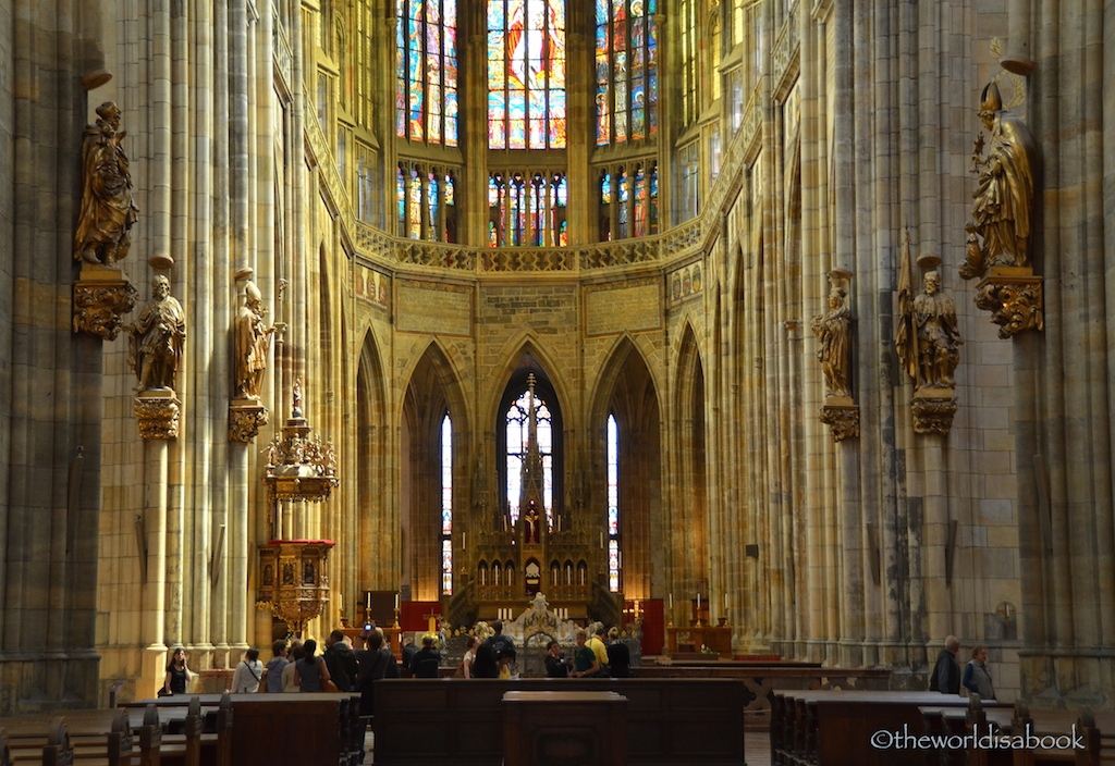 St Vitus cathedral altar
