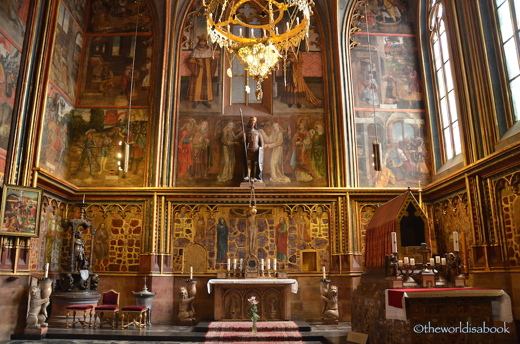 St Wenceslas chapel prague