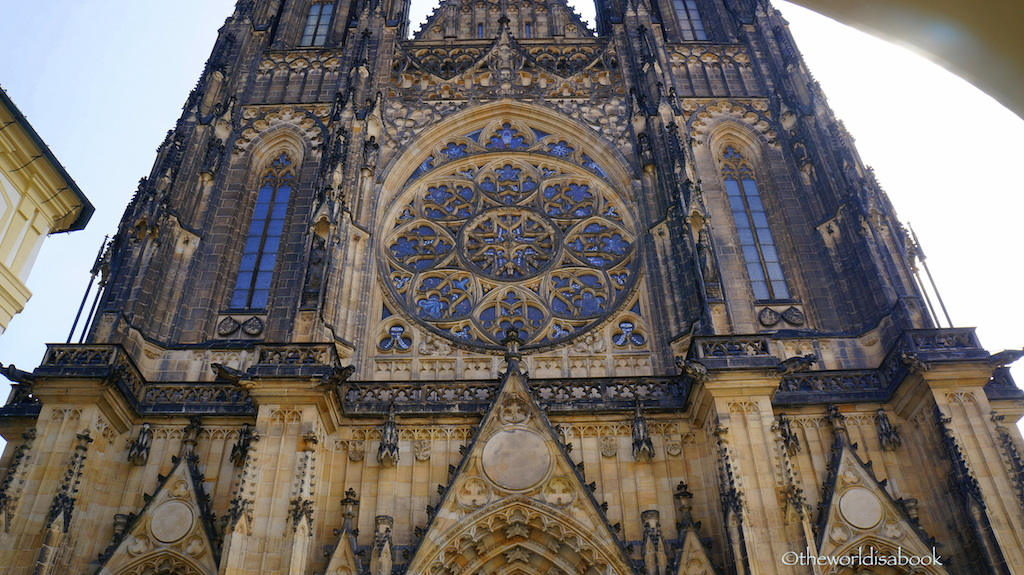 St Vitus cathedral front