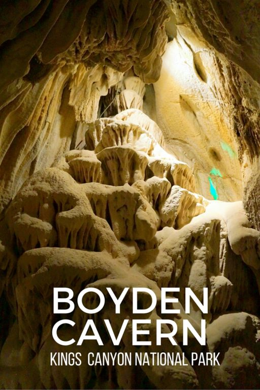 BOYDEN CAVERN California