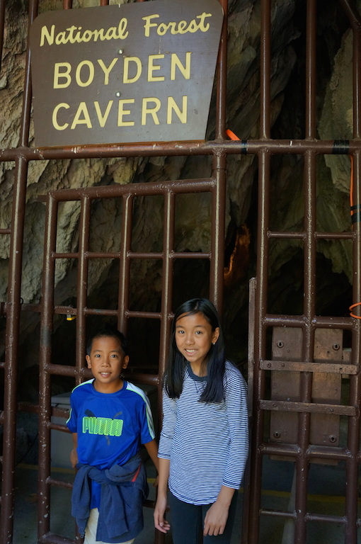 Boyden Cave gate