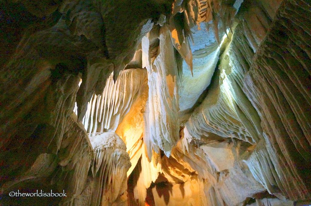 Boyden Cavern Drapery room