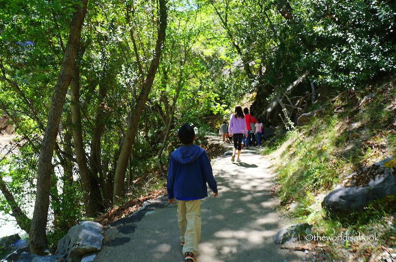 Boyden Cavern pathway