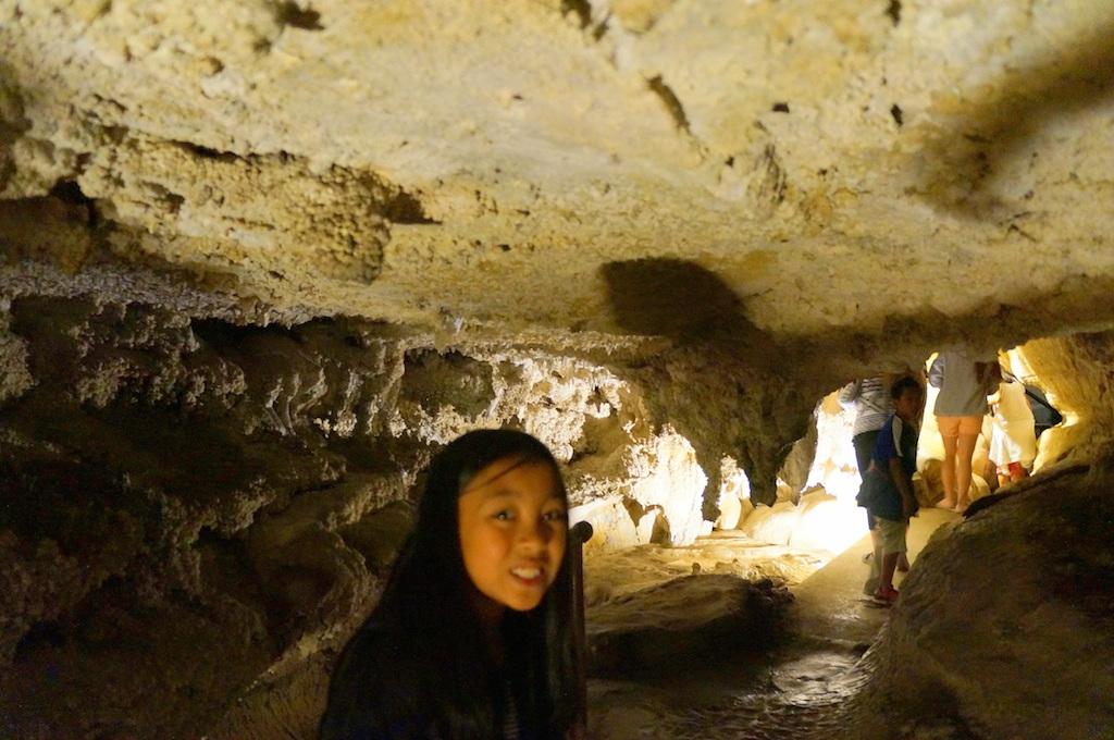 Boyden Cavern with kids