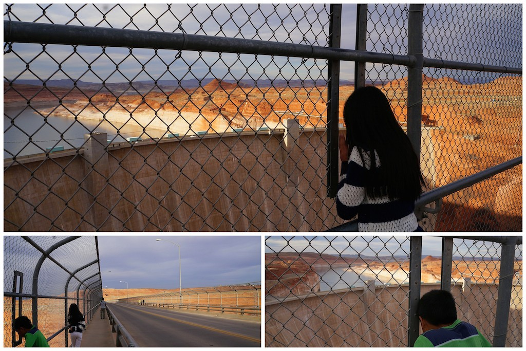 Glen Canyon River Dam fence