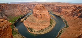 On the Cliff's Edge at Horseshoe Bend, Arizona