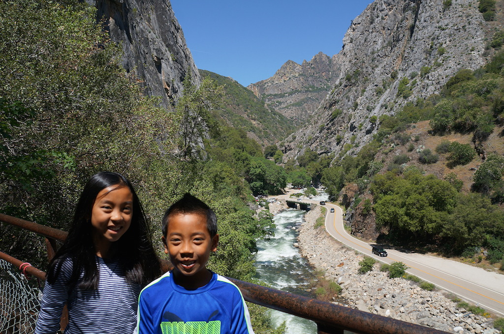 Kings Canyon with kids