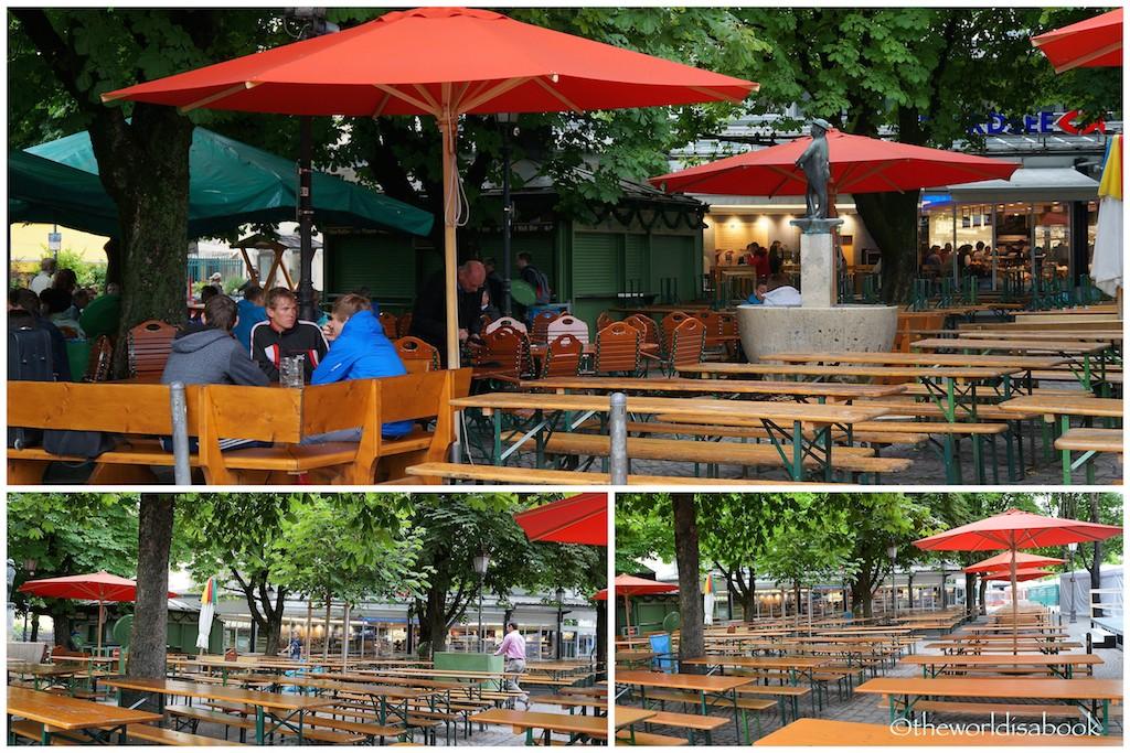 Viktualienmarkt Beer garden