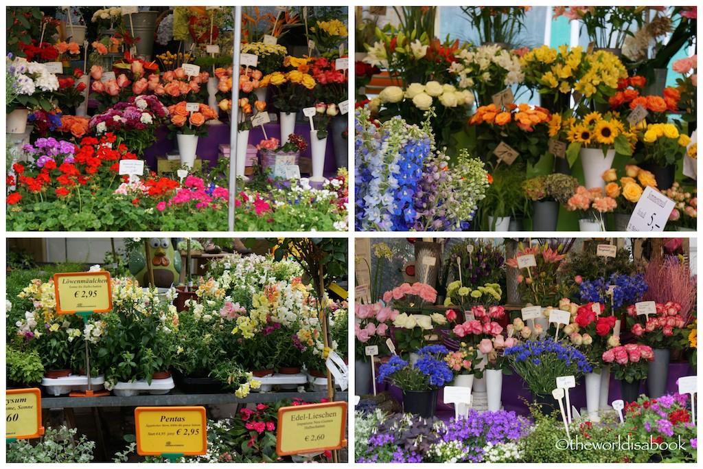 Viktualienmarkt flowers