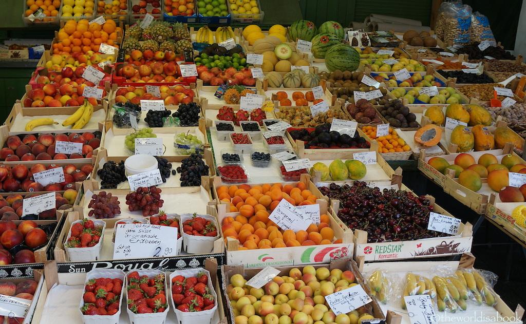 Viktualienmarkt fruits