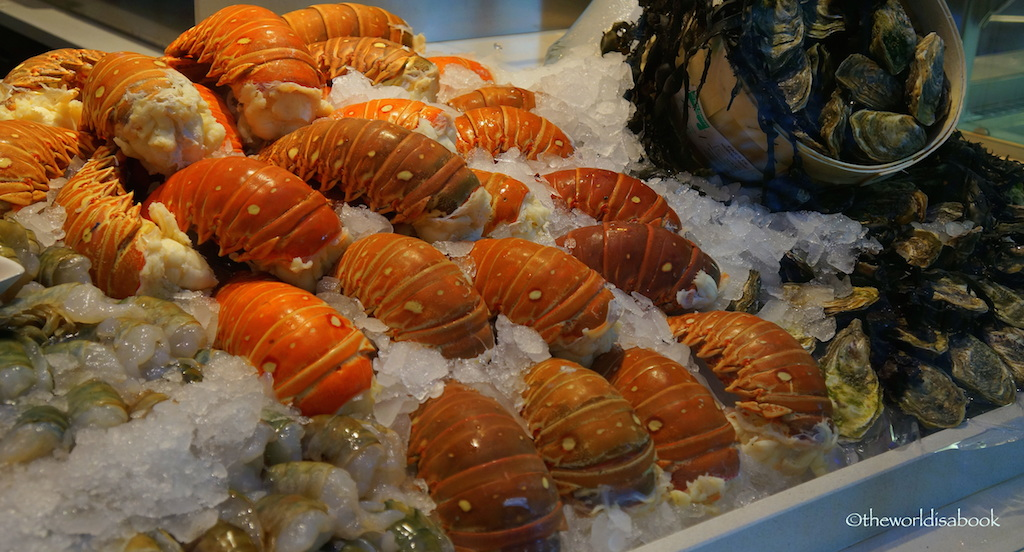 List of types of seafood