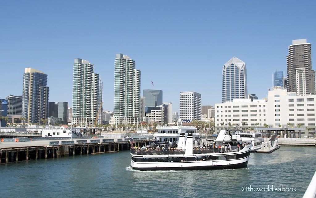 San Diego bay cruise