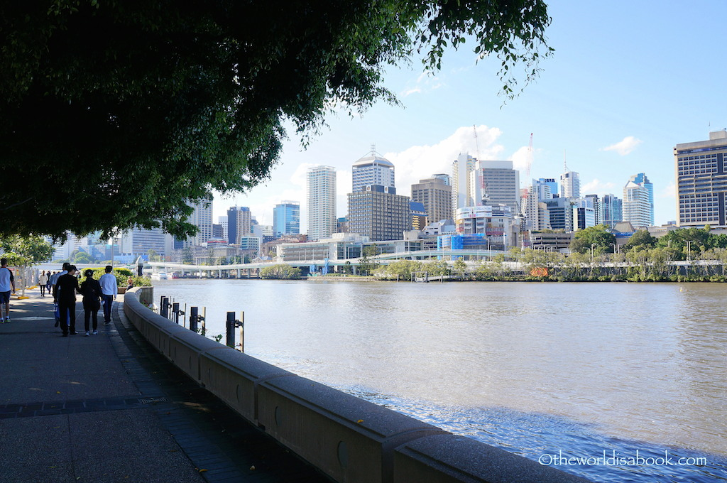 Brisbane South Bank promenade
