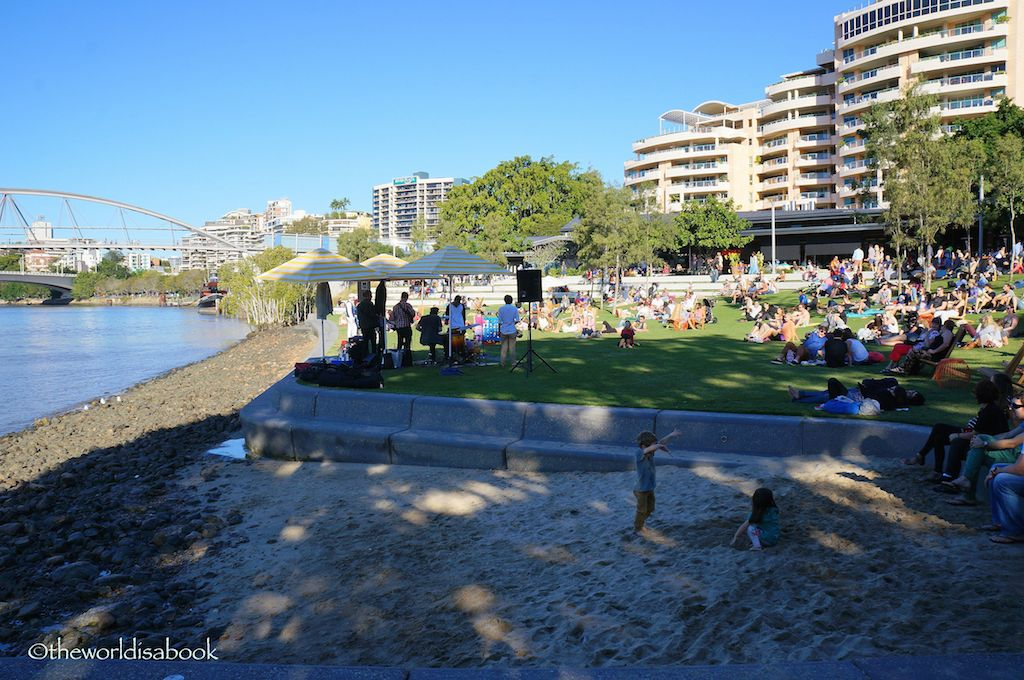 Brisbane South bank concer