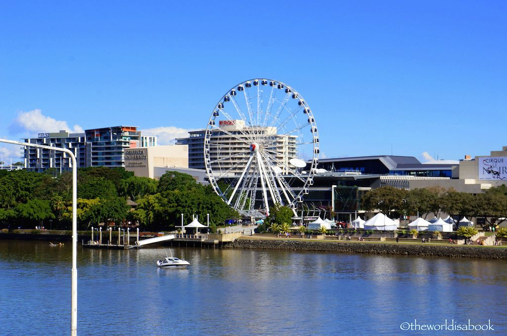 Brisbane South bank parklands