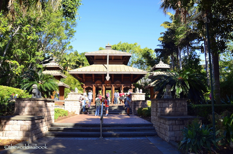 Brisbane south bank nepalese pagoda
