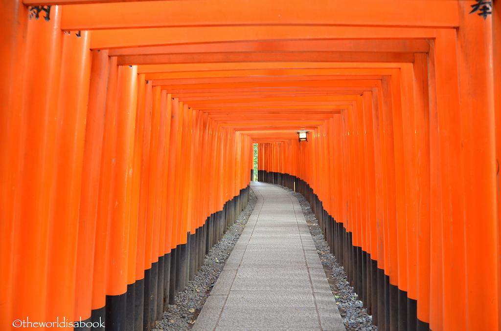Kyoto Fushimi Inari Shrine torii