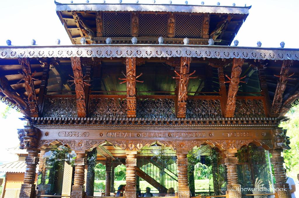 South Bank Nepal Pagoda